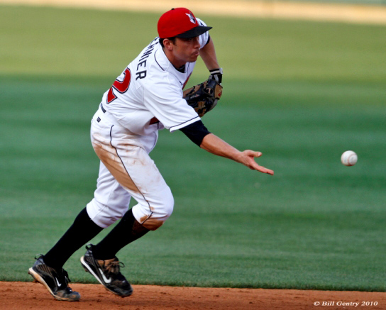 How to execute an underhanded flip to second base