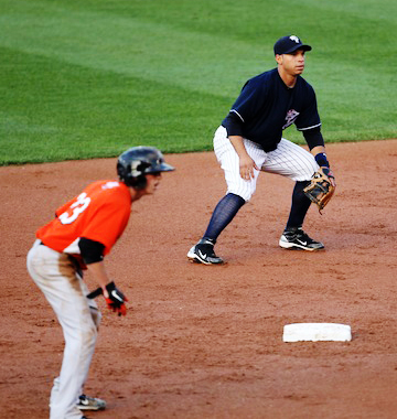 Written for second basemen. How to hold a base runner close to second base. Keep the runner from stealing by being prepared with information and watching for signs.