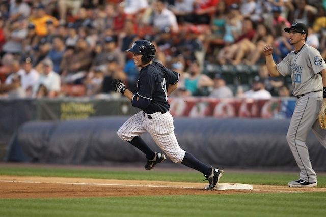Running past first base. Free baseball tips