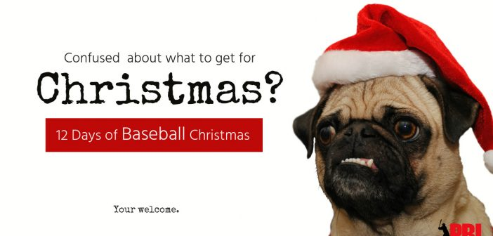 12 days of baseball christmas