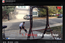 baseball fielding drills you can do in your driveway