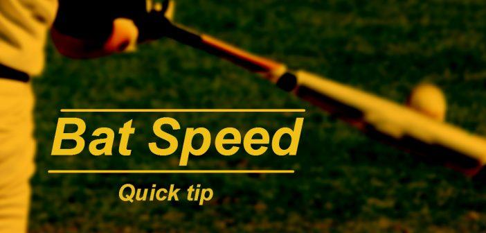 Bat Speed, increase bat speed