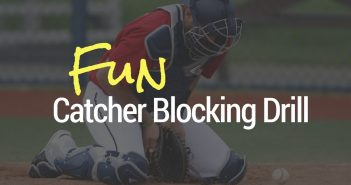 Catcher blocking drills to add fun into your catching practice
